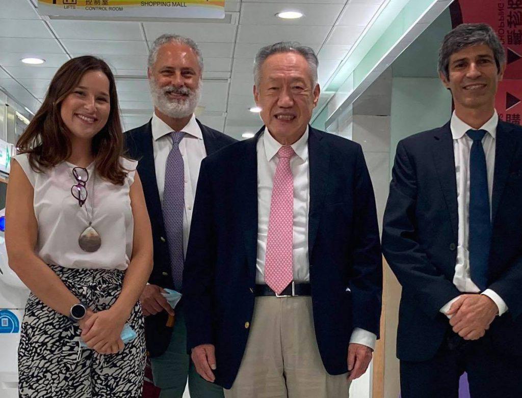 台灣商人郝皙生在23日審訊時到場聽審並表示對官司有信心
