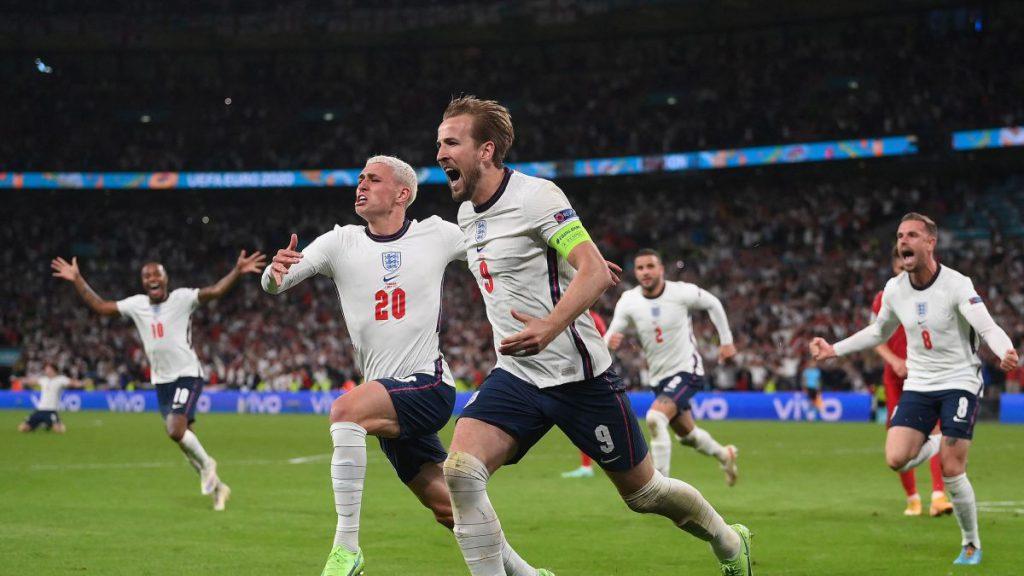 英格蘭擊敗丹麥成功晉級歐洲杯決賽