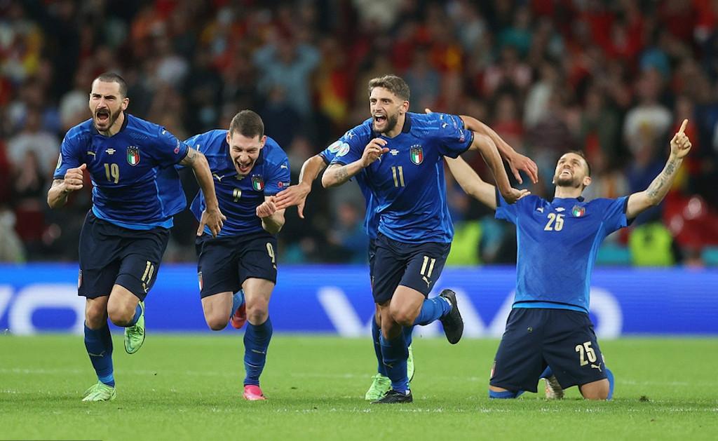 意大利在殘酷的點球大戰勝西班牙晉級決賽