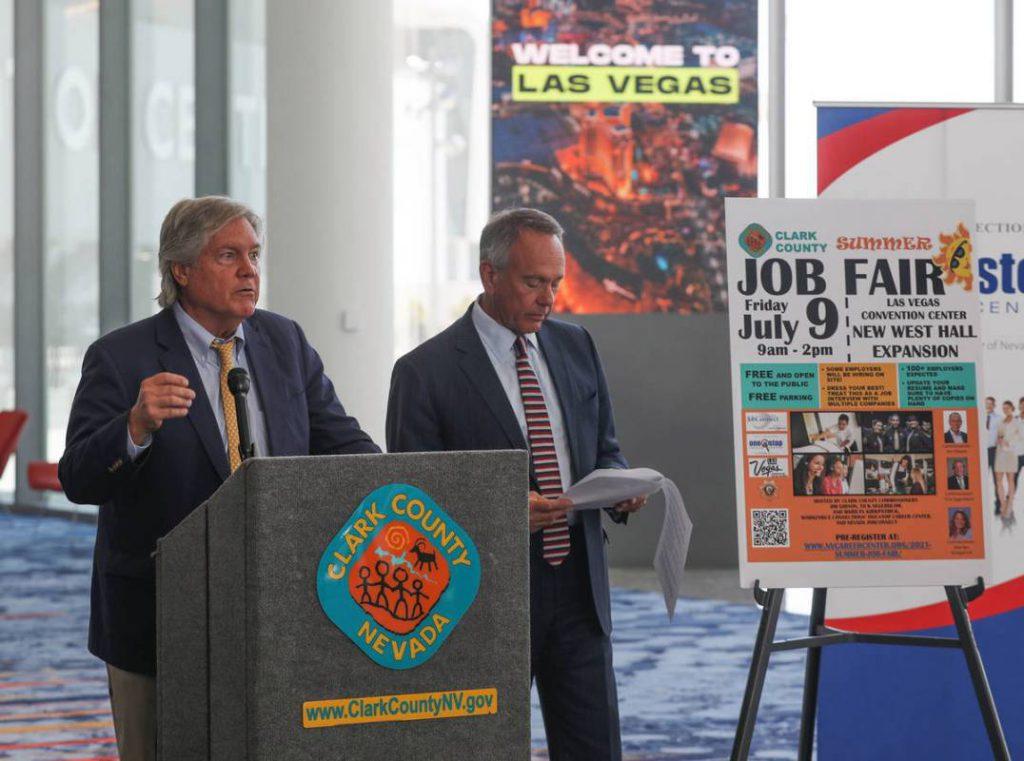 克拉克縣宣布大型聯合招聘會將提供上萬較高薪工作機會
