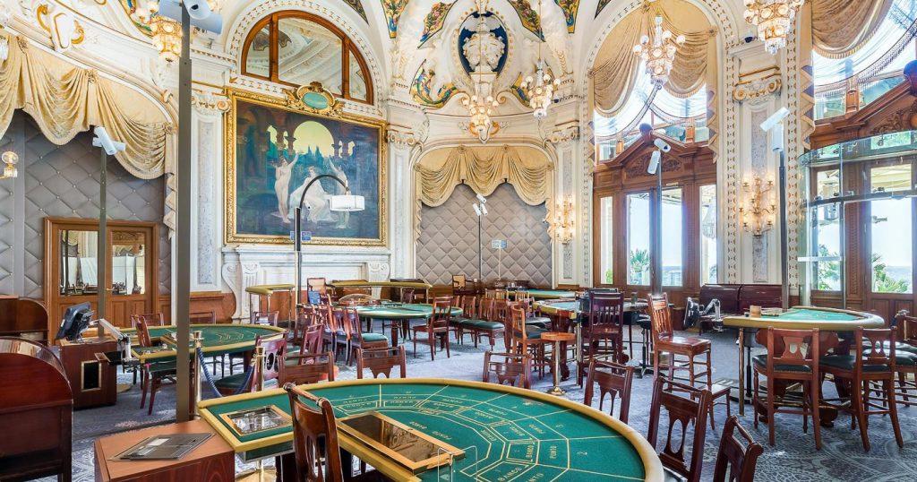 蒙地卡羅賭場有如王宮貴族的娛樂場