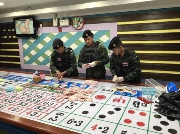 泰國政府努力製止賭場之類的非法賭博