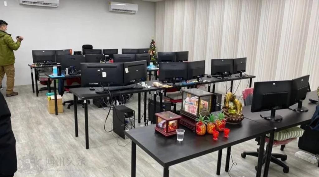 警方抄掉博彩網站研發公司小型辦公室
