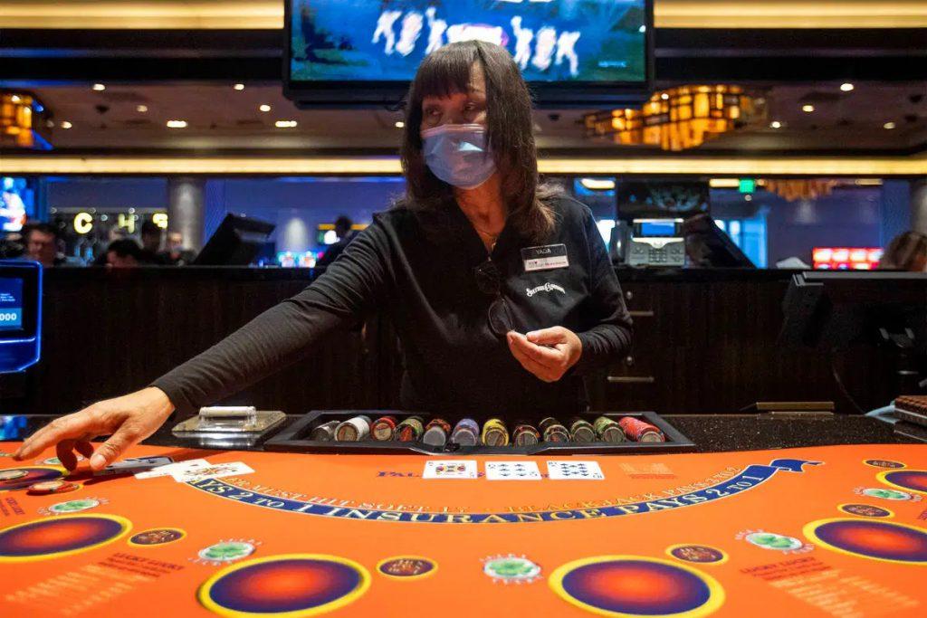 斯維加斯二十一點賭桌