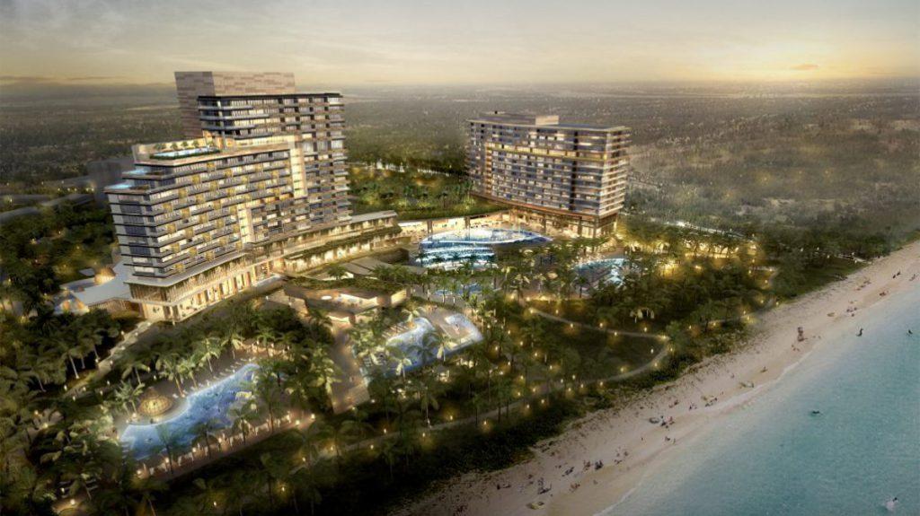 太陽城集團位於越南的綜合度假村會